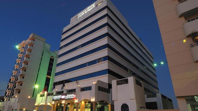 هتل الجوهره گاردنز دبی