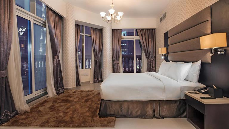 هتل آپارتمان امارات گرند دبی