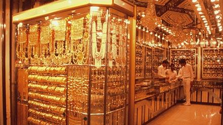 بازار طلای دیرا دبی