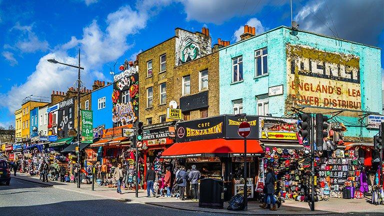 محله کمدن لندن