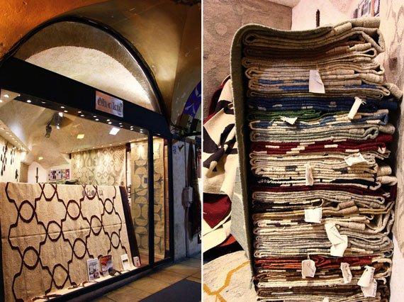 فرروشگاه گلیم بازار استانبول