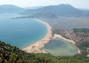 ساحل زیبای ترکیه