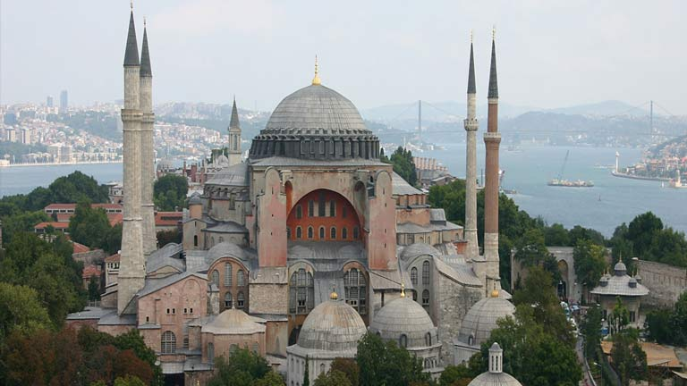 مسجد ایاصوفیه استانبول