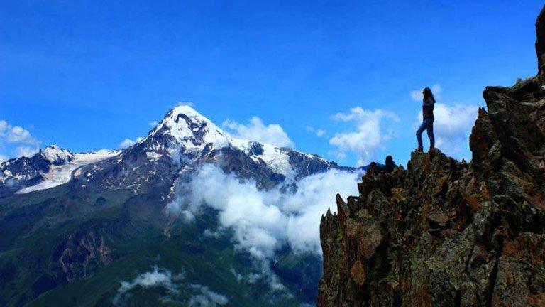 کوه کازبک گرجستان
