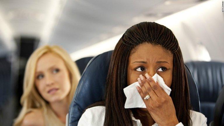 آلرژی در سفر