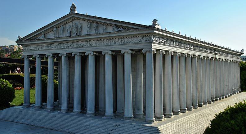 طرح اولیه معبد آرتمیس