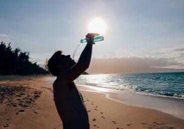 جلوگیری از آفتاب سوختگی در ساحل