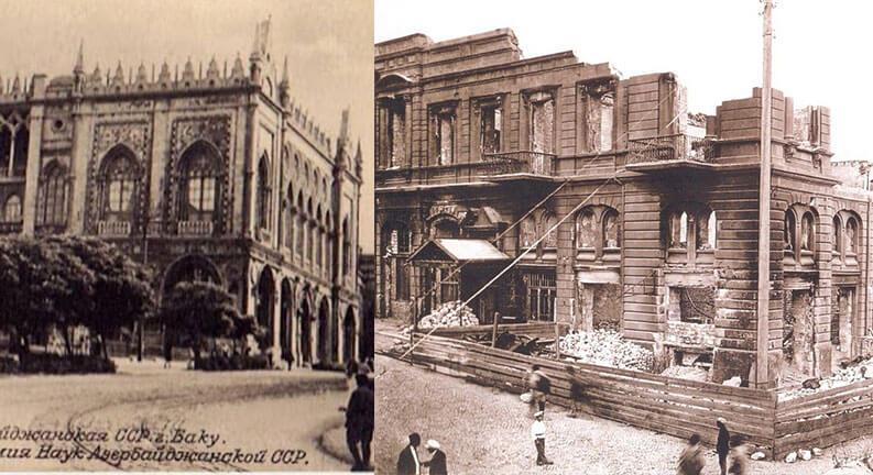 کاخ اسماعیلیه باکو