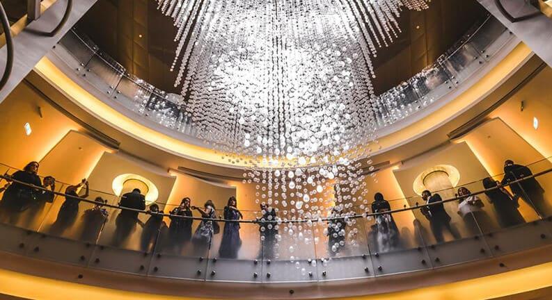 سالن اپرا در دبی