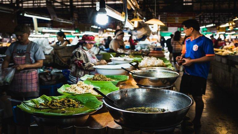 غذاهای خیابانی بانکوک