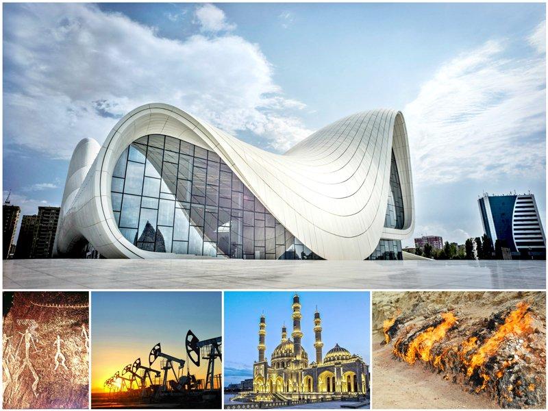 سفر 5 روزه به باکو