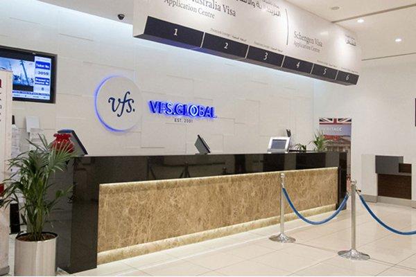 آدرس دفاتر VFS