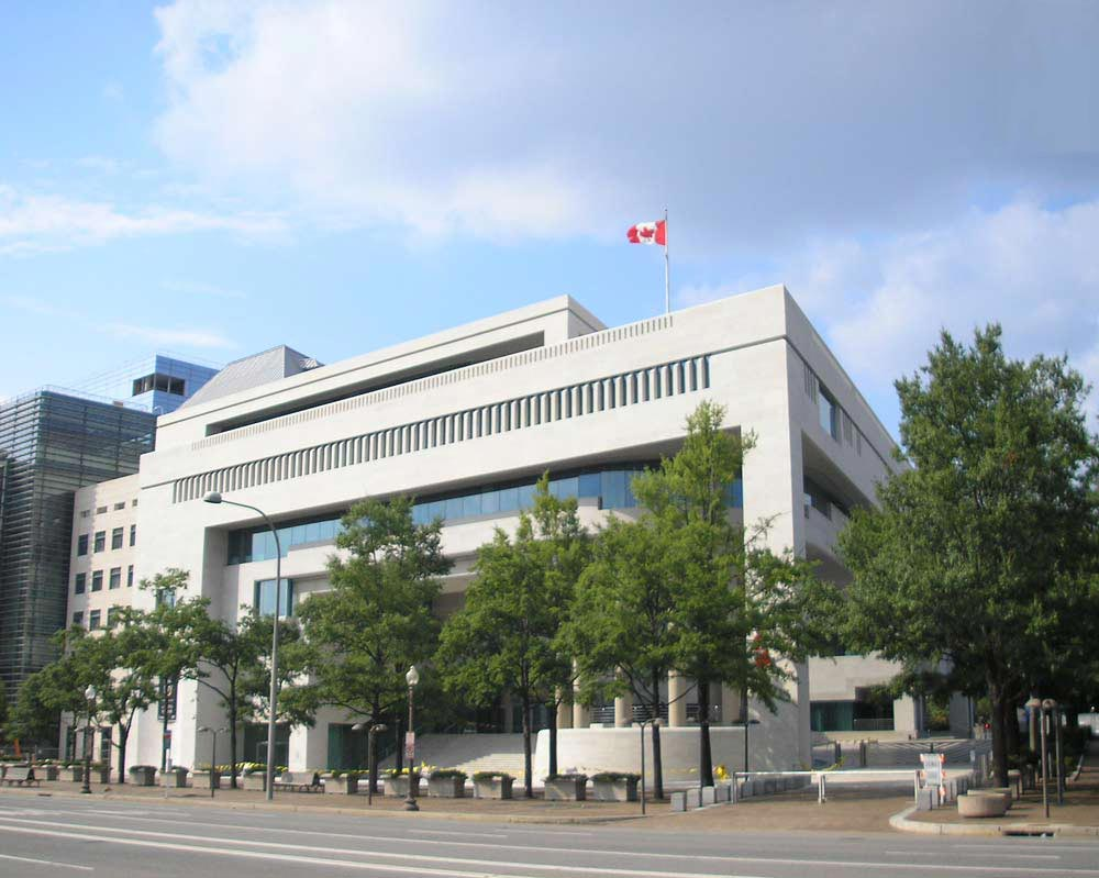 وقت سفارت کانادا در ابوظبی