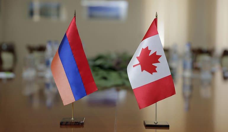 وقت سفا رت کانادا در ارمنستان