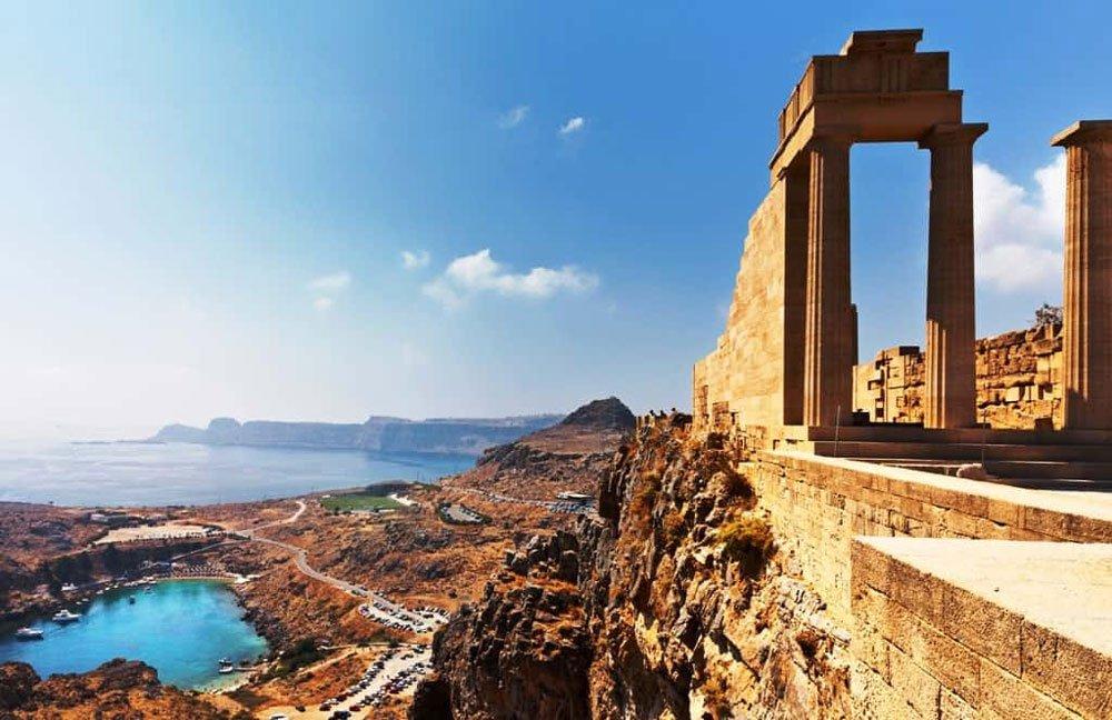 شهر رودس یونان