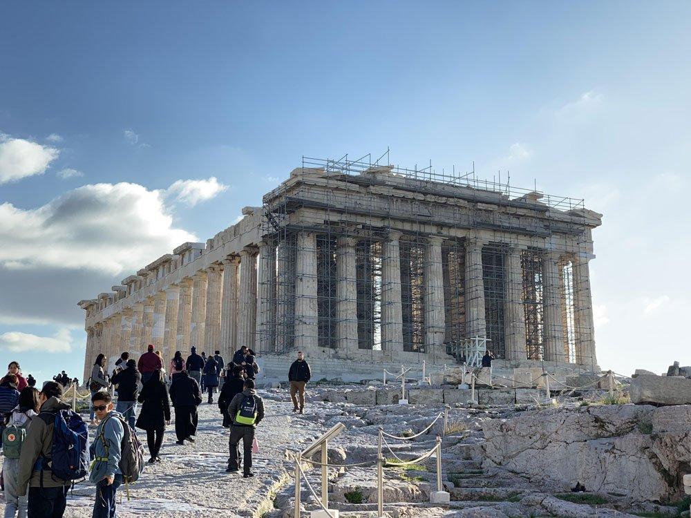 پنج شهر مهم یونان
