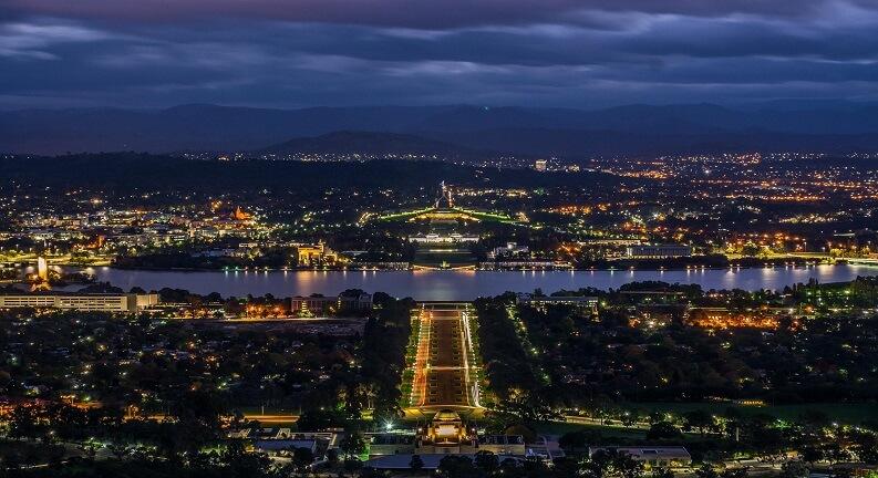کانبرا پایتخت استرالیا