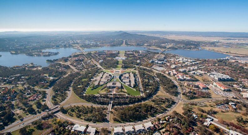پایتخت استرالیا کجاست