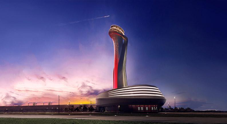 برج مراقبت ترمینال جدید استانبول