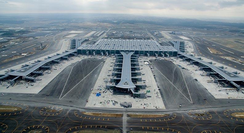 ترمینال های فرودگاه بزرگ ترکیه