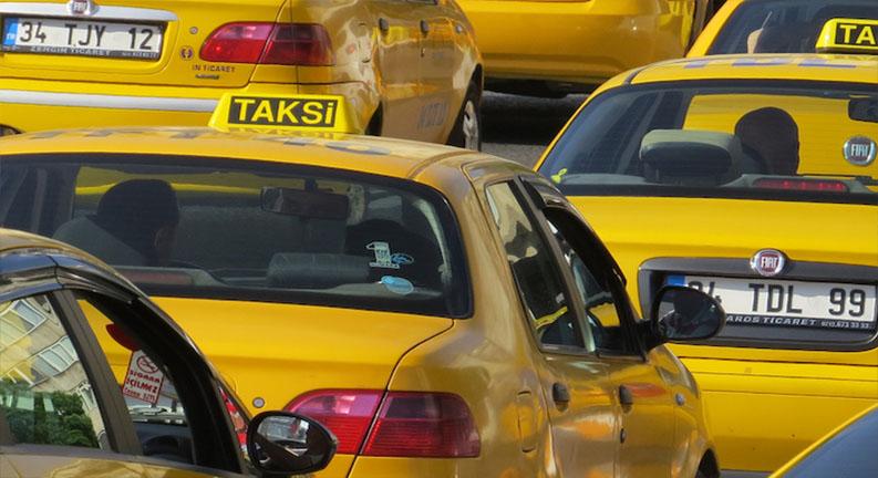 تاکسی های فرودگاه بزرگ استانبول