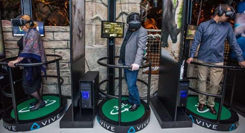 باغ وحش واقعیت مجازی (VRZOO)