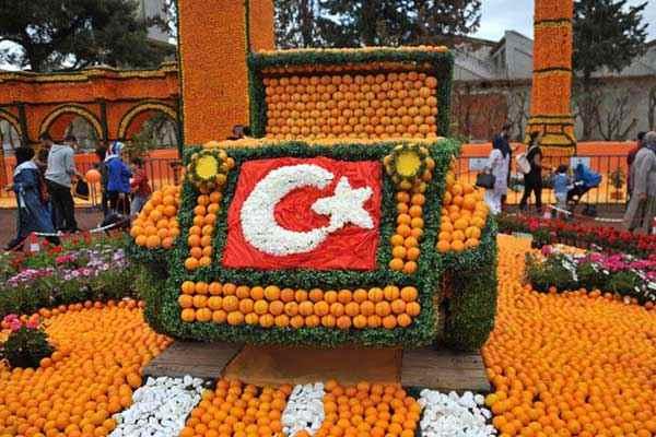 شهر پرتقال ها در ترکیه