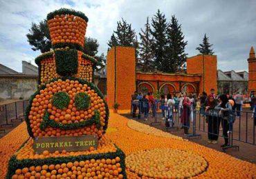 جشنواره پرتقال در آنتالیا