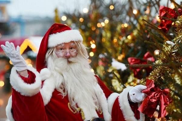 عکس های بابانوئل واقعی