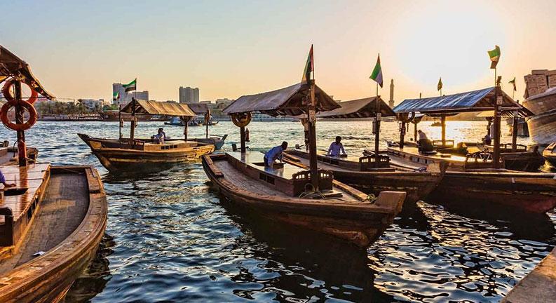 قایق سواری در دبی