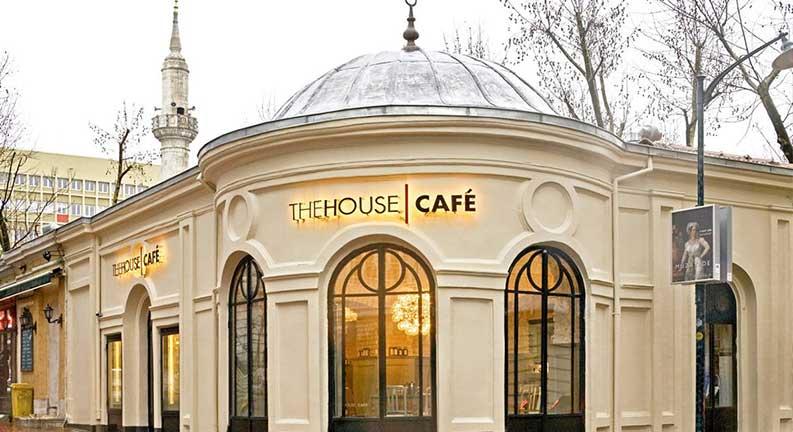 رستوران هاوس کافه (The House Café)