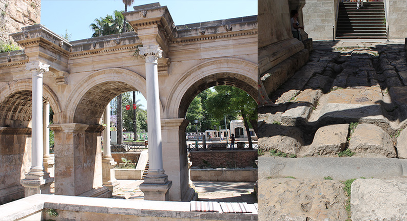 شهر کالیچی در آنتالیا (kaleiçi old city)