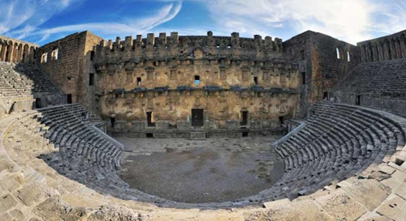 آمفی تئاتر آسپندوس