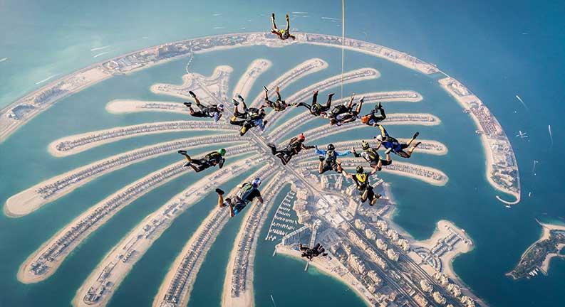 جزایر نخلی دبی