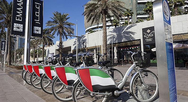 دوچرخه سواری در دبی