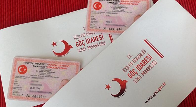 تصویر دو پاسپورت ترکیه